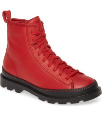 women's camper brutus bootie, size 8us - red