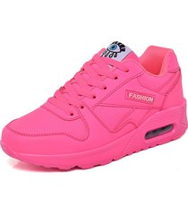mujer zapatillas de deporte de plataforma zapatos casuales zapatillas