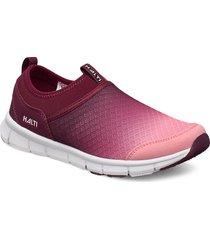 lente women's leisure shoes sneakers röd halti