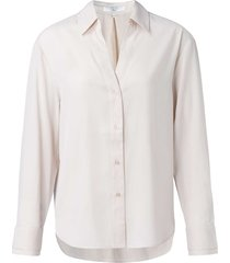jacquard shirt with cuffs pale pink