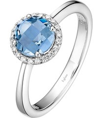 women's lafonn birthstone halo ring