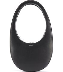 coperni swipe leather hobo bag - black