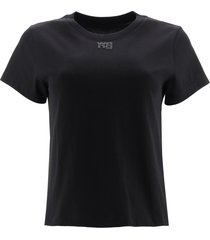 t by alexander wang t-shirt with logo