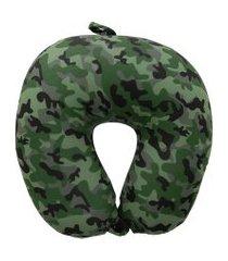 almofada de pescoço stz camuflado verde