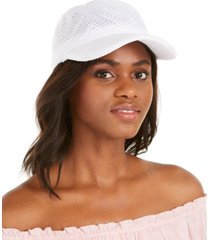 inc packable crochet baseball cap, created for macy's