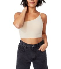 women's boston seamless one shoulder camisole top