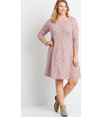 maurices plus size womens solid floral tie back mini shift dress pink