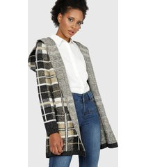 abrigo wados multicolor - calce regular