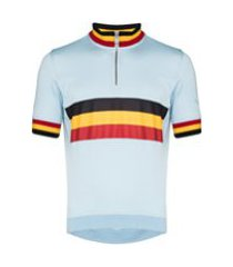 rapha bermuda esportiva belgium de jérsei - azul