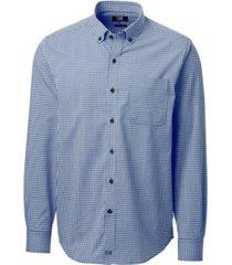 cutter & buck men's big & tall anchor gingham shirt