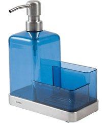 organizador brinox de pia elegance azul