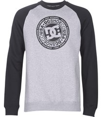 sweater dc shoes circle star crew raglan