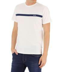 a.p.c. t shirt yukata blanc h