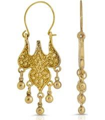 2028 islamic wire hoop drop earrings