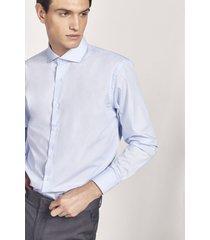 camisa celeste equus alex classic fit