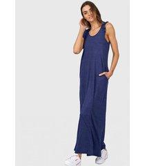 vestido azul chelsea market cami largo