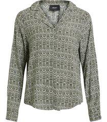 blouse gedessineerde longsleeve