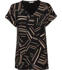 digna t-shirts & tops short-sleeved svart masai