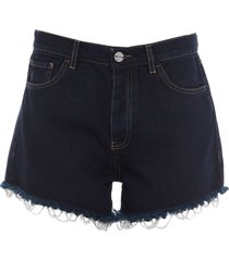 pinko uniqueness denim shorts