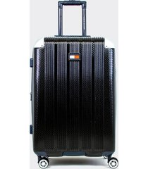 "tommy hilfiger women's 24"" spinner suitcase black -"