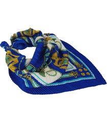 pañuelo azul nuevas historias  plisado ba1168bis-35