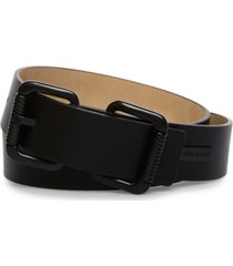 steve madden double-head roller-buckle belt