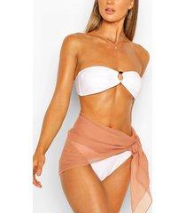 beach sarong, tan