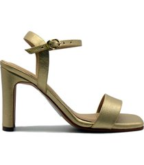 sandalia alta dorado san basilio