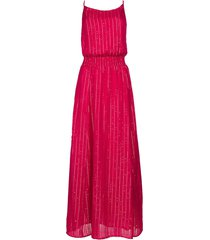 lurex pailetten jurk lauriana  roze