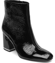mable shoes boots ankle boots ankle boot - heel svart calvin klein
