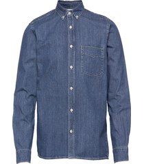 ranger denim shirt skjorta casual blå gabba