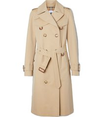 burberry islington belt cotton trench