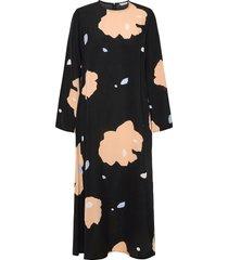 hilbertti lennokki dress jurk knielengte zwart marimekko