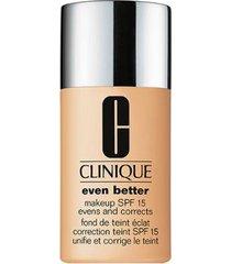 base clinique - even better makeup broad spectrum spf 15 64 butterscotch