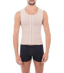 cinta modeladora slim compressão melhora postura colete pliè masculina