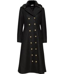 abbey coat yllerock rock svart ida sjöstedt