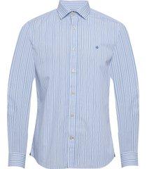 cicero spread collar shirt overhemd business blauw morris