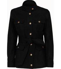 a.p.c. giacca veste balmoral in misto lana