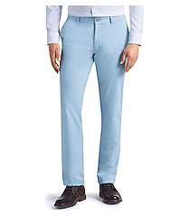 1905 collection tailored fit flat front chino pants clearance by jos. a. bank