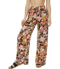pantalón billabong multicolor - calce holgado