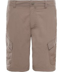 the north face korte broek men horizon peak shorts weimaraner brown-maat 32
