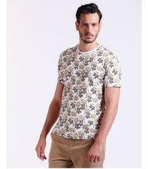 camiseta maxi flowers