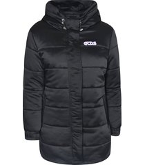 gcds left chest logo padded jacket