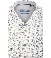 ledûb overhemd met stretch mf 0139315/550240