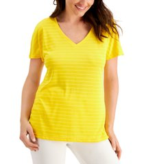 ideology shadow-stripe t-shirt, created for macy's