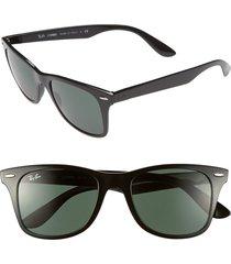 women's ray-ban 52mm sunglasses - green