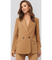 sisters point lili blazer - brown