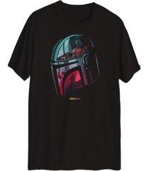 mando helmet star wars men's graphic t-shirt