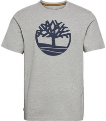 kbec river tree tee t-shirts short-sleeved grå timberland