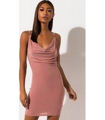 akira sasha drape jewel mini dress
